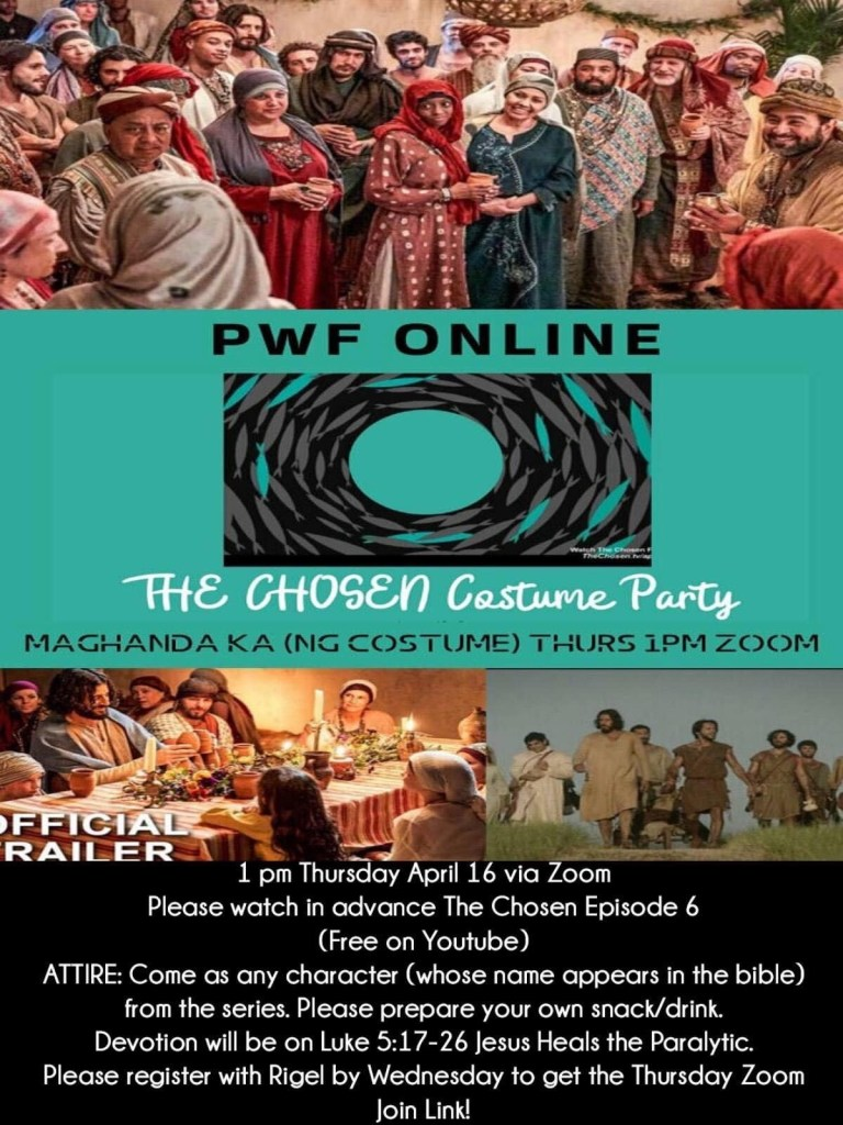 The Chosen Costumer Party