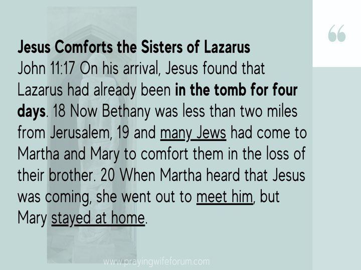 Lazarus, Come Out images bible study .009