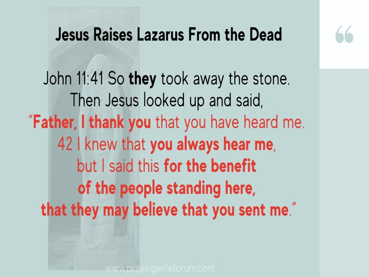 Lazarus, Come Out images bible study .018