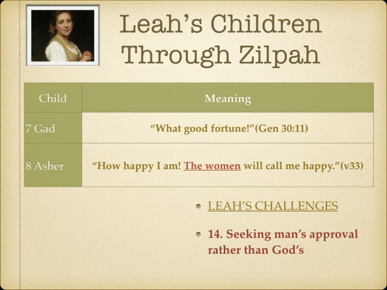 LEAH STUDY images Not picked by Man but Chosen By God.025
