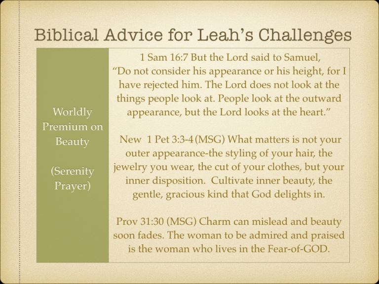 LEAH STUDY images Not picked by Man but Chosen By God.050
