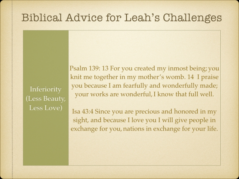 LEAH STUDY images Not picked by Man but Chosen By God.052