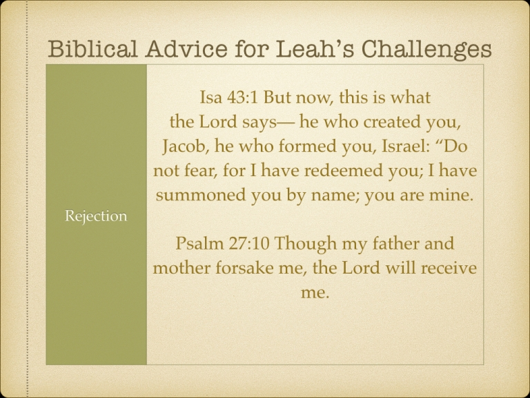 LEAH STUDY images Not picked by Man but Chosen By God.054