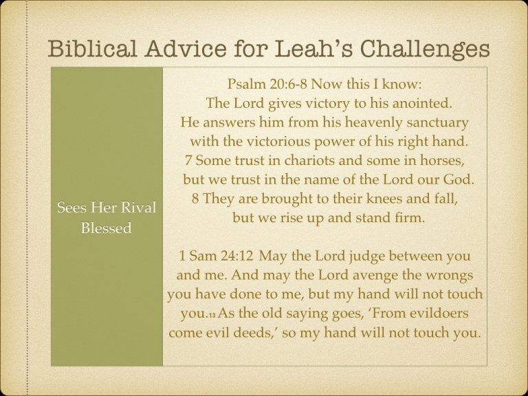 LEAH STUDY images Not picked by Man but Chosen By God.064