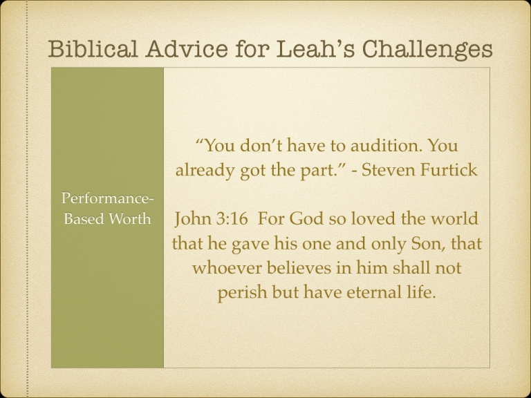 LEAH STUDY images Not picked by Man but Chosen By God.066