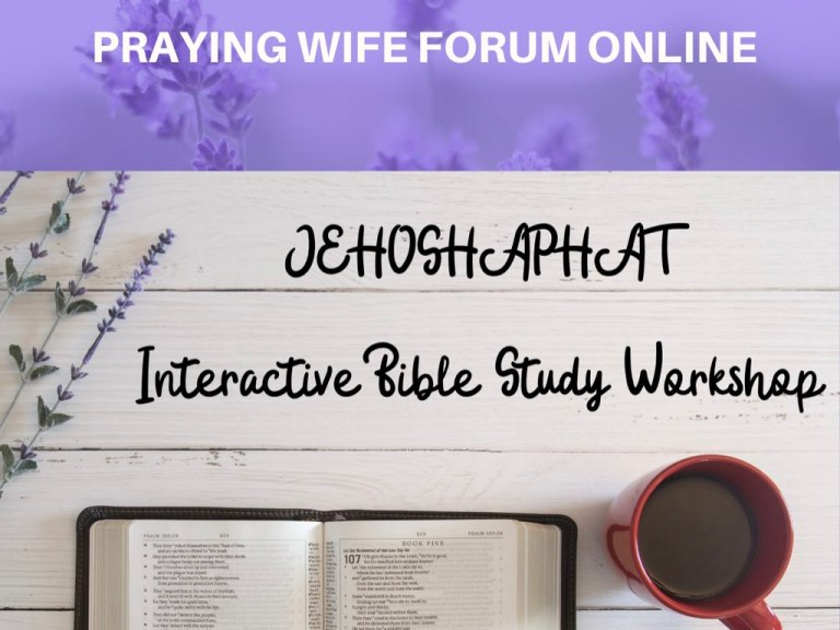 Jehoshaphat bible study workshop.001
